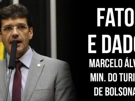 MARCELO ALVARO MINISTRO DO TURISMO FATOS E DADOS